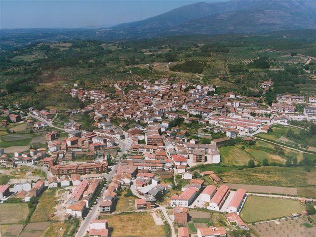 Vista aérea de Madrigal de la Vera