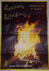Cartel Luminarias 2014