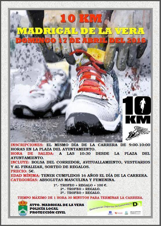 10k - Madrigal de la Vera - 2016