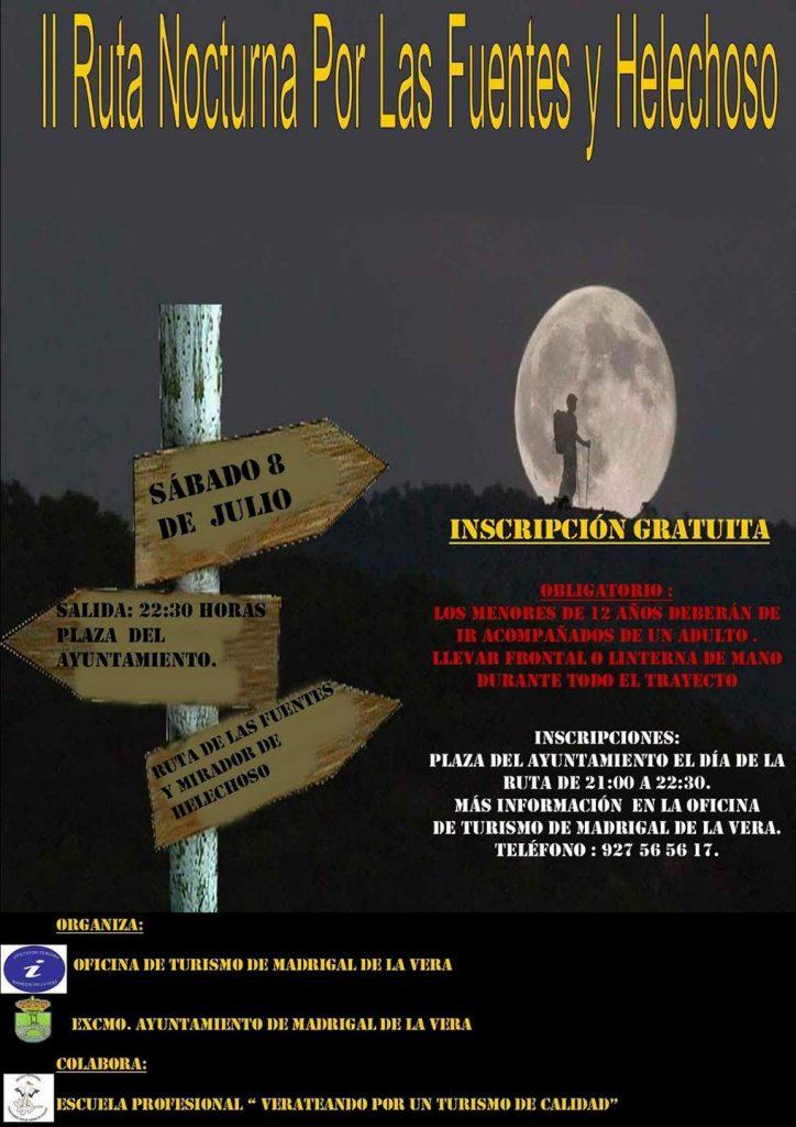 II Ruta nocturna Madrigal de la Vera - Helechoso