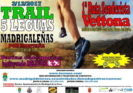 TRAIL 5 LEGUAS MADRIGALEÑAS