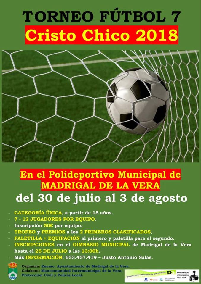 Cristos chicos 2018 - Fútbol 7